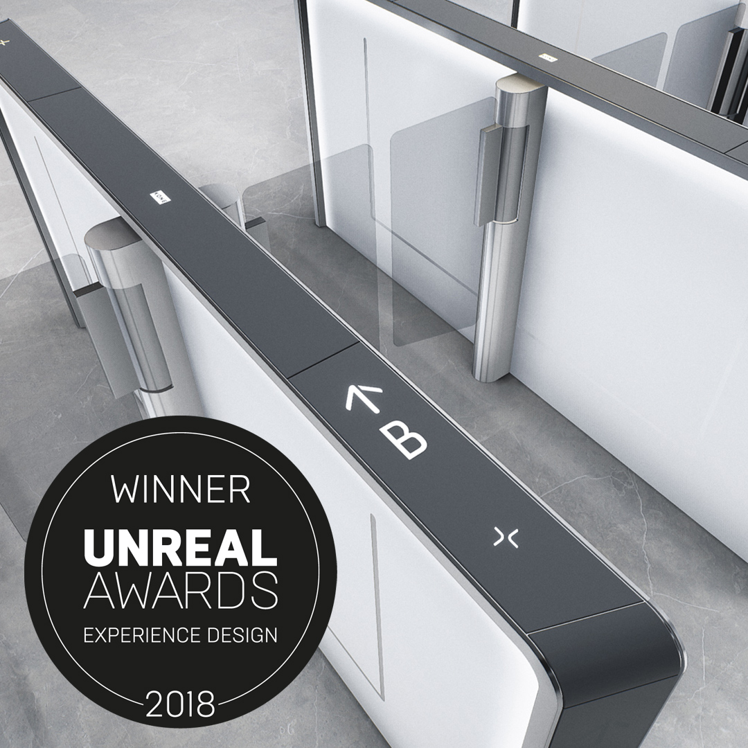 Unreal Awards for KONE People Flow VR experience